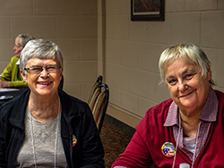 Judy Woods & Barb Mann Spence