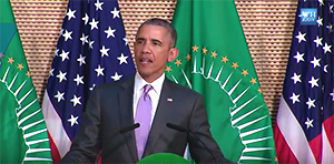 President Obama speaks at the African Union Headquarters in Addis Ababa, Ethiopia, July 28, 2015 - White House video