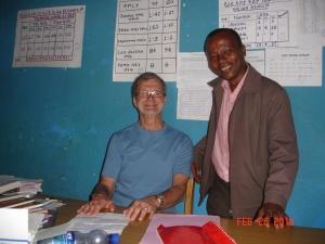 Doug and the headmaster