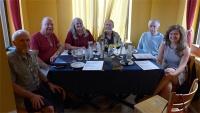 Board members meet in DC: Stephen Cristofar, Leo Cecchini, Janet Lee, Randolph Marcus, John Coyne, Amanda Sutker