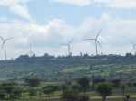 Wind farm outside Adama